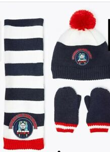 MARKS AND SPENCER Kids' Thomas & Friends Hat, Scarf & Glove Set 6-18 M BNWT