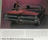 1967 Pontiac advertisement page, Pontiac Bonneville