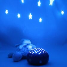 Calming Autism Sensory LED Light Projector Toy Touch Act Multicolor Night Lamp