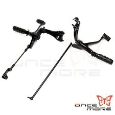 Stee; Black Foot pegs Forward Control Kit For Harley 2013 Sportster Iron XL 883N