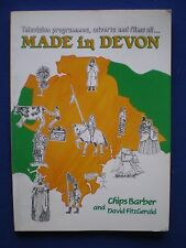 TV Programmes, adverts and Films all Made in Devon by Chips Barber  1988
