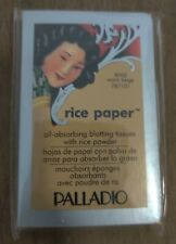 Palladio Oil Absorbing Blotting Rice Paper Tissue 40 Sheets Warm Beige Rpa8
