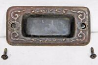 1890's Antique WINDOW LIFT / PULL Oval Design BRASS Victorian Style ORNATE