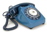 Ancien Téléphone fixe vintage à cadran Socotel 1981 France (Réf#E-221)