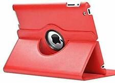 """360 degree rotating 9.7"""" Apple Ipad Air/Pro case - Red"""