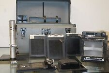 GRAFLEX CROWN GRAPHIC 4X5 PRESS/VIEW CAMERA OPTAR f4.7 135 MM w/ Case + Bundle