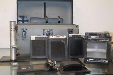 GRAFLEX CROWN GRAPHIC 4X5 PRESS/VIEW CAMERA OPTAR f4.7 135 MM w/ Case + Bundle