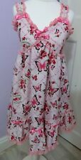 Metamorphose Temps de Fille Pink Jewel Butterfly JSK Sweet Gothic Lolita Dress