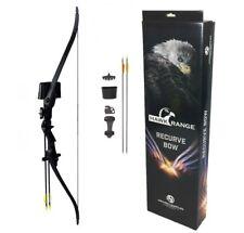 Archery Kids Recurve Bow and Arrow Junior Longbow Beginners Set + 5 Arrows Kit