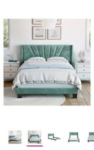 Brand New Aqua bed frame queen size