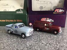 1:43 Classic FJ Holdens Panelvan and utility