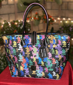 Disney Dooney & Bourke Wonder Mickey Mouse Silhouettes Tote NWT
