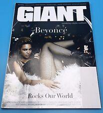 Giant magazine December/January 2009 Beyonce - Rare magazine
