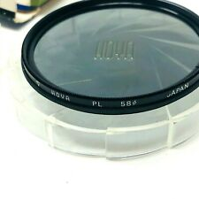 older Hoya 58⊘ PL camera lens filter