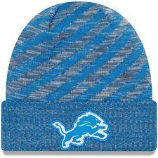 Era Detroit Lions Blue 2018 NFL Sideline Cold Weather Official TD Knit Hat d19fd04f2