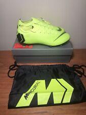 Nike Mercurial Vapor 12 Elite 360 FG ACC Volt Black AH7380-701 Men's Size 12 ACC