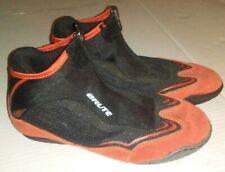 Brute Inception Mens Black / Orange Wrestling Shoes Size 6.5