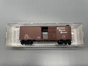Micro Trains Canadian Pacific Railway Box Car N Scale 20436/2 CP #51059 Boxcar
