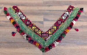 """6.30"""" x 40.16"""" Tassel Segusha Belly Dance Uzbek VINTAGE FAST Shipment UPS 12020"""