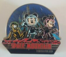 Pin's Disney Attraction SPACE MOUNTAIN MICKEY MINNIE PLUTO