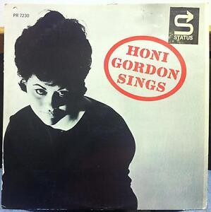 HONI GORDON sings LP VG+ PRLP 7230 JAKI BYARD 1962 Record Van Gelder DG Mono