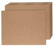 20 x Double Wall Cardboard Sheets Art Craft Board 800mm x 600mm
