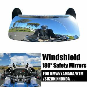 Fit BMW K1200LT K1200R Sport K1200S K1300S 180° Windshield Rearview Mirror