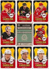 2010-11 OPC O-Pee-Chee Retro Carolina Hurricanes Complete Team Set (19)