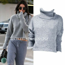Cotton Blend Scoop Neck Medium Knit Jumpers & Cardigans for Women