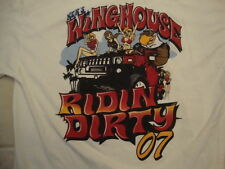 Ker's Wing House Ridin Party 07 Sexy Cute Girls Dallas TX Bar T Shirt Size L