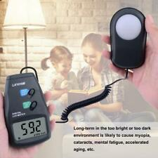 High-precision 50,000 Lux digital LCD light meter photometer