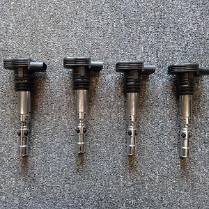 AUDI TT 1.8T 225 COIL PACKS X4 06A905115D SEAT LEON CUPRA MK4 GOLF GTI