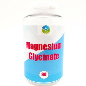 Magnesium Glycinate 500mg Strongest UK - Vegan Safe High Strength Muscle Sleep