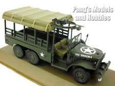 Dodge WC63 Personel - Cargo 6x6 1.5 Ton Army Truck 1/43 Scale Diecast by Atlas
