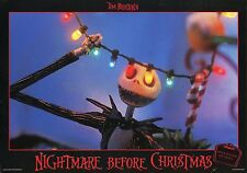 TIM BURTON THE  NIGHTMARE BEFORE CHRISTMAS 1993 VINTAGE LOBBY CARD #1