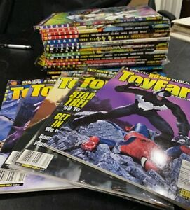 Wizard - The Guide To Comics Lot of 21 mixed issues some sealed 61-96 + Toy Fare