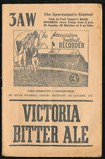 1947 Grand Final Port Melbourne vs Sandringham Football Record Oct 4 VFA