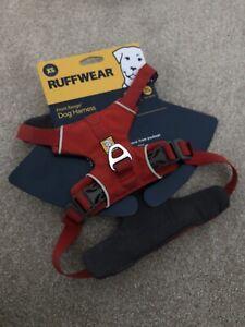 Red Ruffwear Harness XS Used