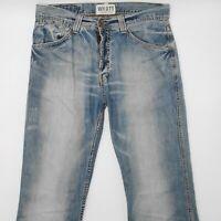 Tommy Hilfiger Wyatt Pant Slate Worn 904 W31 L34 blau Herren Denim Jeans Hose