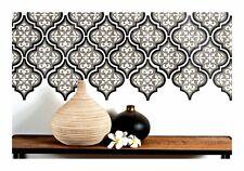 Temara 3-layer Marokkanische Fliese - Möbel Wand Boden Schablone für die Malerei