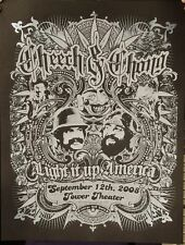 Cheech & Chong Pa 2008 Silkscreen Gig Poster Only 88 In The Edition