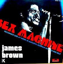 LP - James Brown - Sex Machine (FUNK / SOUL) SPANISH EDIT.1974, MINT,NUEVO
