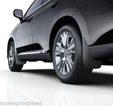 Genuine Lexus RX450h 2012> Complete Mudflap Set Front & Rear Mudflaps New