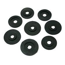 More details for black rubber spring dampers set of 8 for  besson tuba