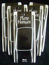 NEW 5 ASSORTED SPRING PLATE WALL HANGERS HOLDER SIZES 1,2 & 3