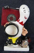 vintage trophy 50's Bowling iphone porcelain pin wallet dresser holder watch mcm