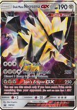 Pokemon Tcg Sm102 Dusk Mane Necrozma Gx Foil Promo Black Star Rare Card