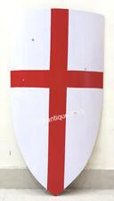 Halloween Medieval Knight Templar Crusader Metal Shield Armour Shield