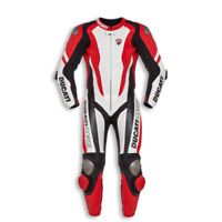 DUCATI CORSE MOTORCYCLE MOTORBIKE RACING 1&2 PIECES LEATHER SUIT