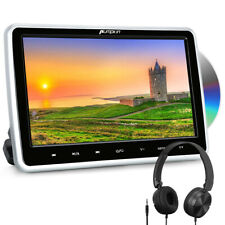 "10.1""HD Car Portable DVD Player Headrest Monitor TV Screen HDMI-in USB+Headphone"